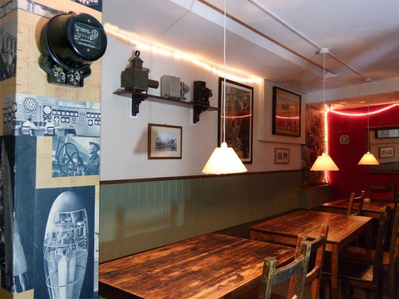 eastern europian food cafe in hackney table view